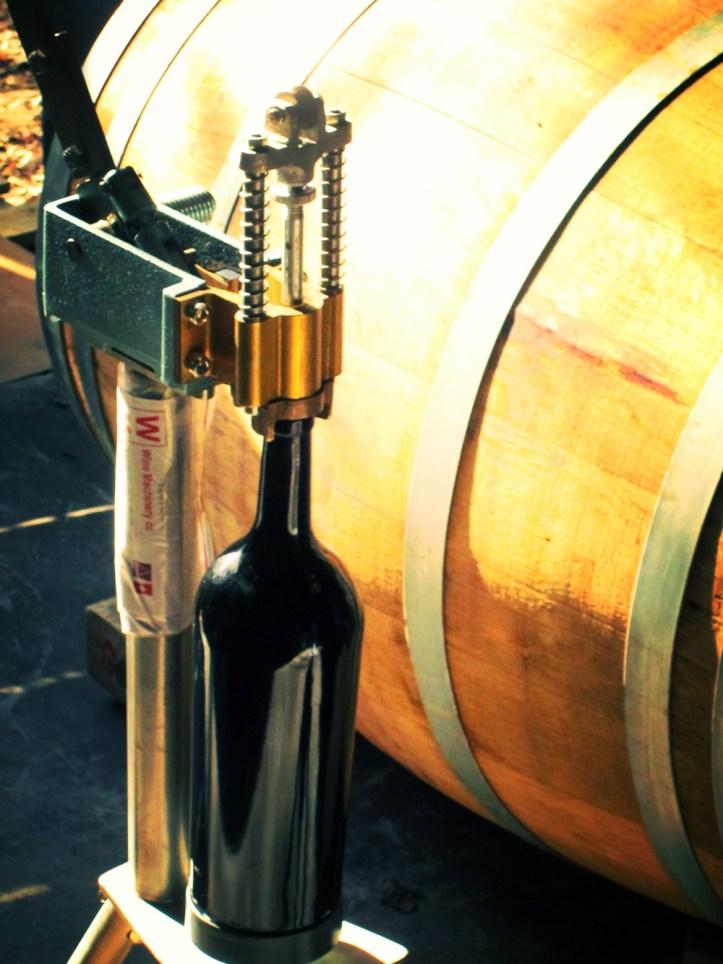 Jason Oliva Wine Hand Corking Machine from switzerland