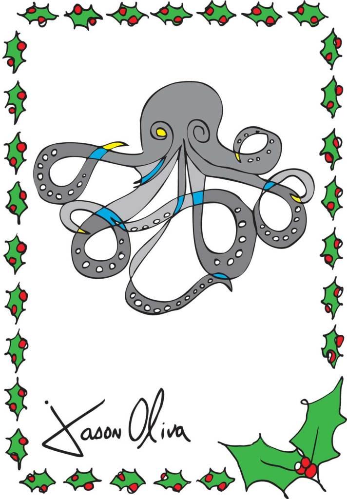 Octopus Jason Oliva Painting