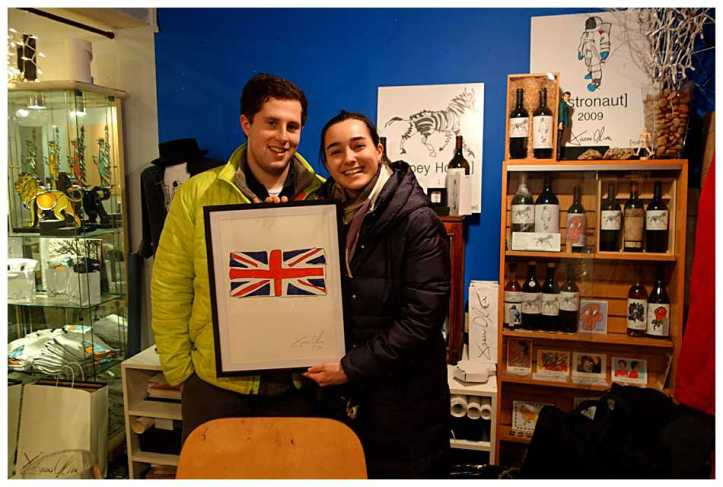 Jason Oliva studio British Flag