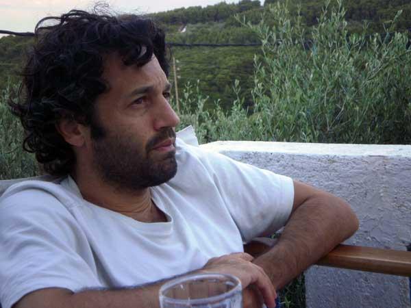 Jason Oliva NYC Artist painter in Greece