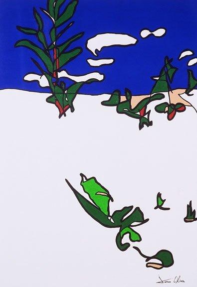 Jason Oliva Winter Landscape oil painting