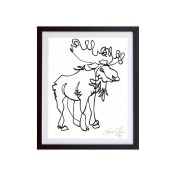 Moose-White-framed-small-work-on-paper-jason-oliva