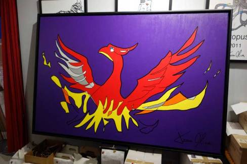 Phoenix painting by Jason Oliva