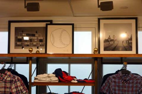 Jason Oliva Baseball work on paper purchased and displayed by Ralph Lauren NYC