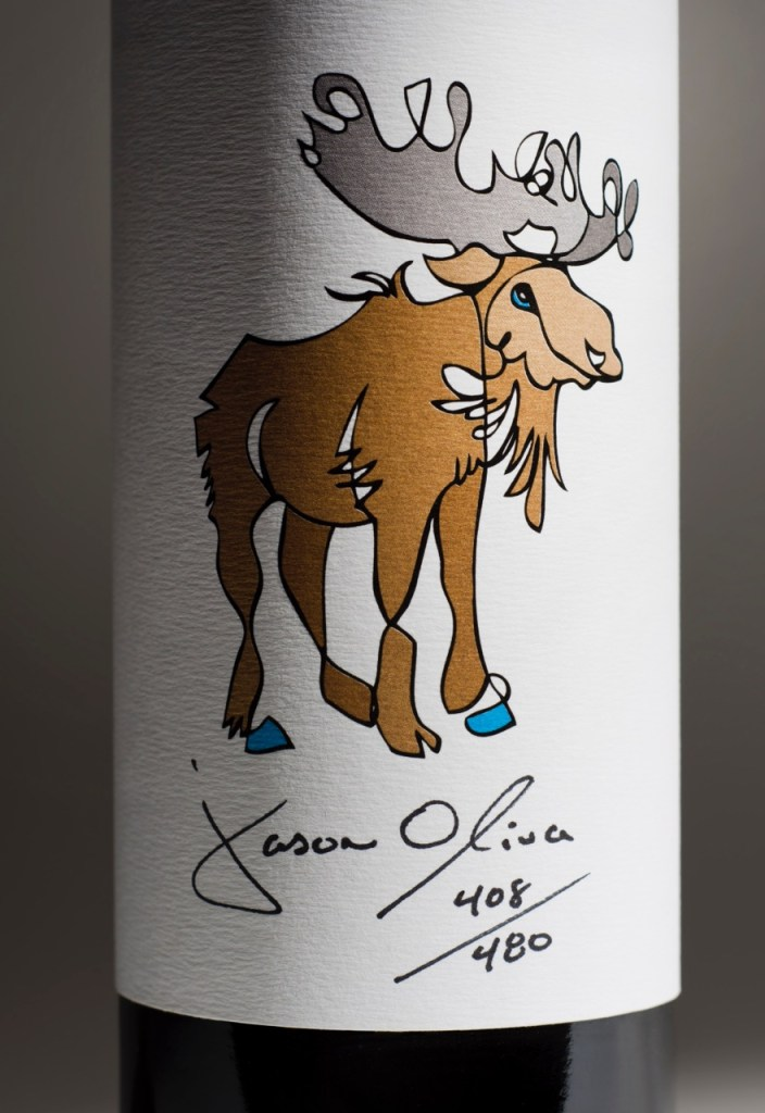 Moose 2011 Jason Oliva wine Stellenbosch South Africa