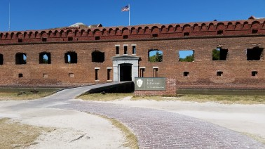 Entrance to fort from ferry dock.