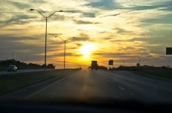Highway Sunset, Texas
