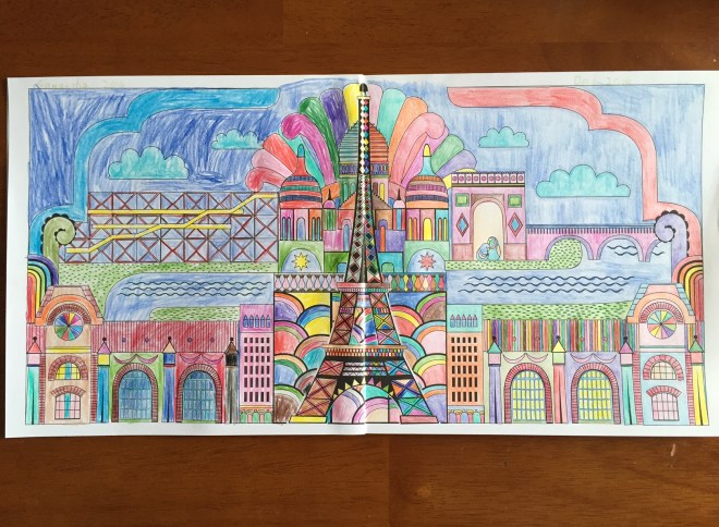 Splendid Cities Coloring