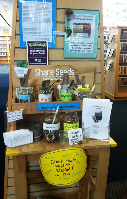 San José Public Library - Seed Library