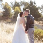 Bride and Groom at Lake Hume Resort Albury