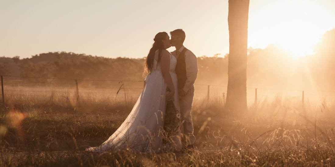 Professional Wedding Photography in country Victoria by Albury & Melbourne Wedding Photographer Jason Robins