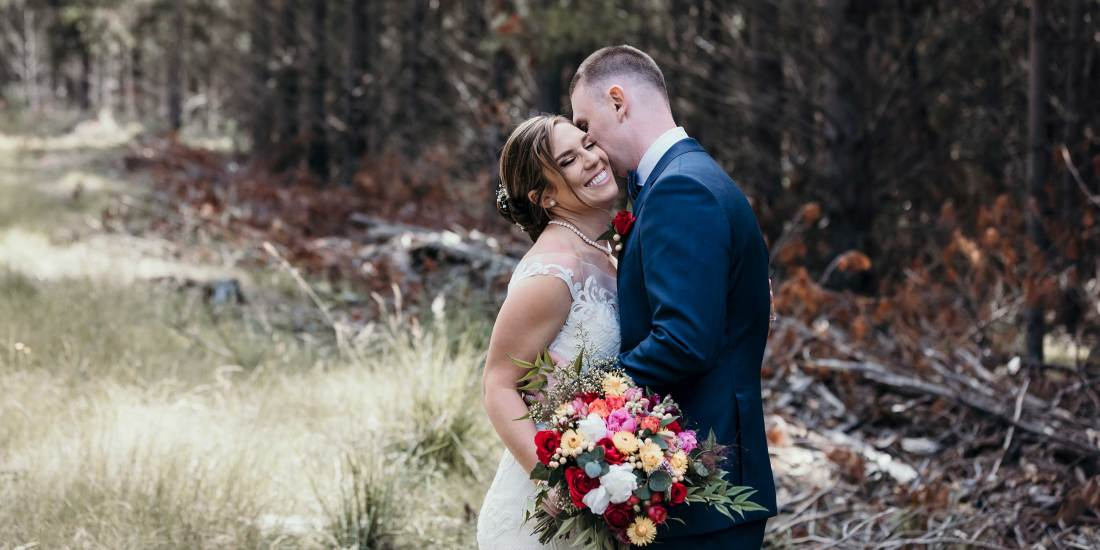 Professional Wedding Photography in Bright Victoria at Feathertip Winery. By Photographer Jason Robins