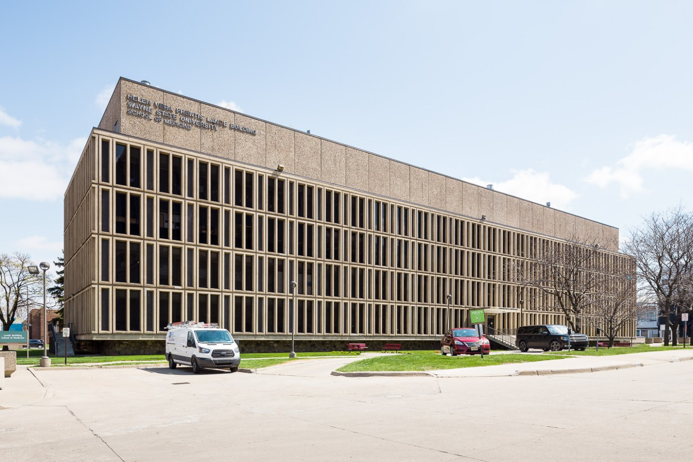 Helen Vera Prentis Land Building in Detroit by Smith, Hinchman & Grylls. Photo by Jason R. Woods.