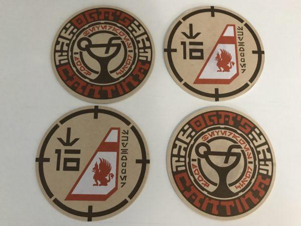 Oga's Cantina Coasters