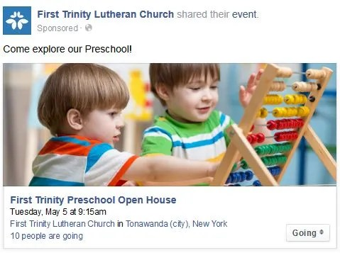 Preschool Facebook Ad 4
