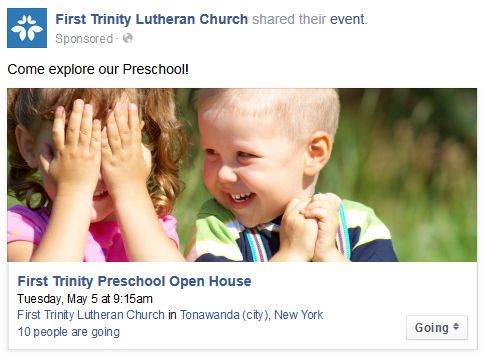 Preschool Facebook Ad 5