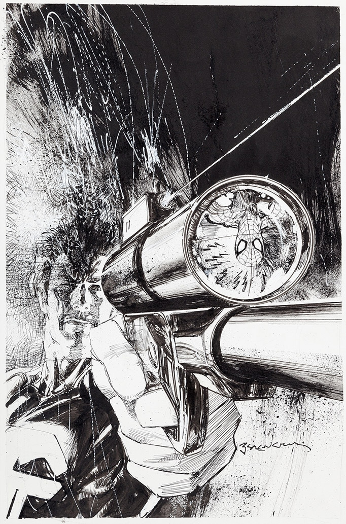 Bill Sienkiewicz original art
