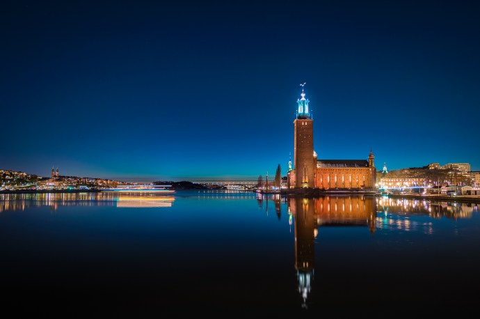 STOCKHOLM TOWN HALL.