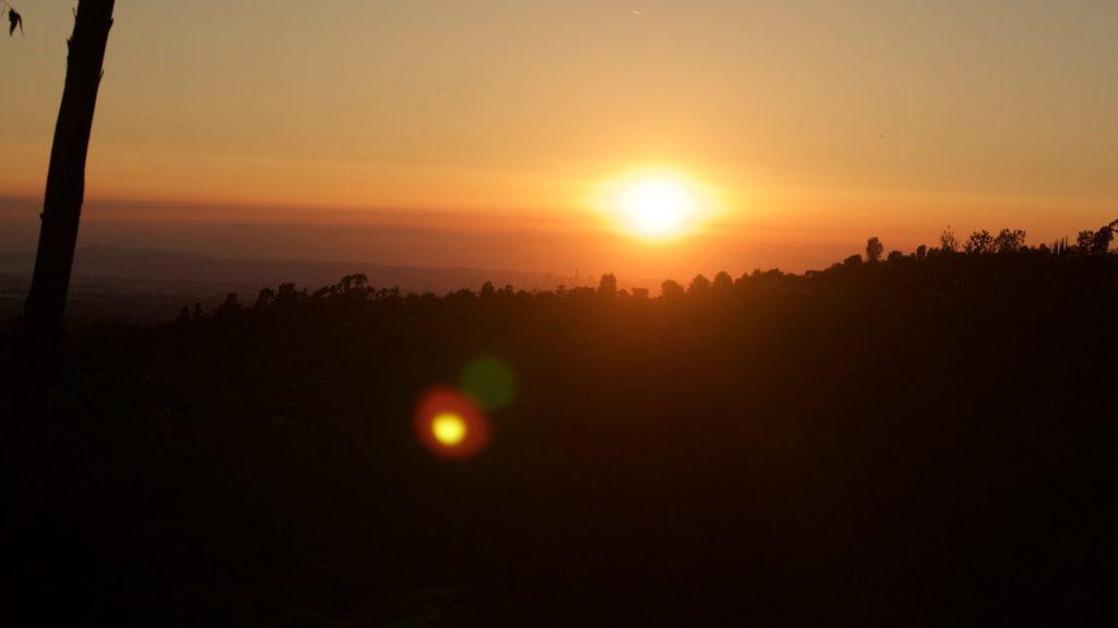 Timelapse 4K Arroyo Pescadero Trail Whittier, CA 1