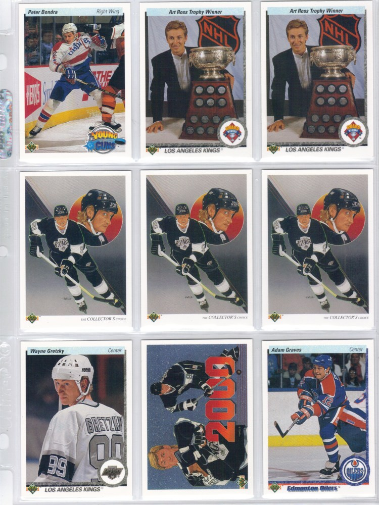 1990-91 Upper Deck Hockey Cards (5/6)