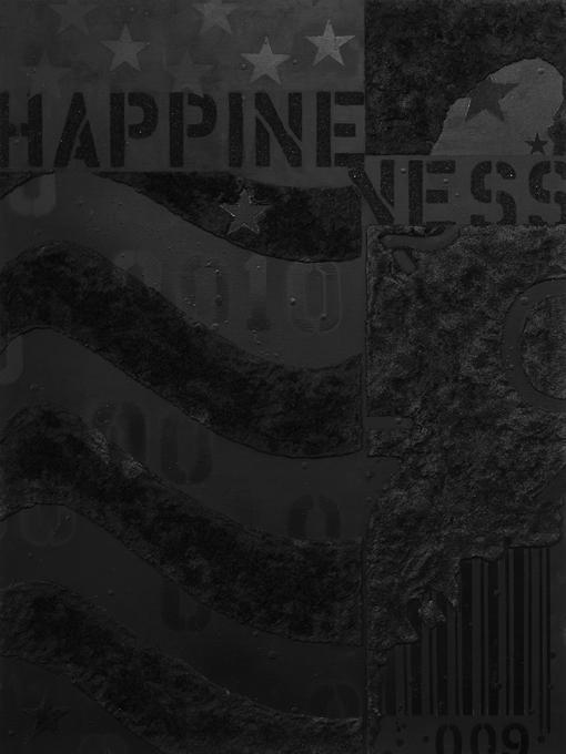"""Happiness, 30""""x40"""", acrylic on wood panel, 2013."""