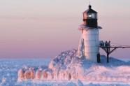 Frozen Lighthouse