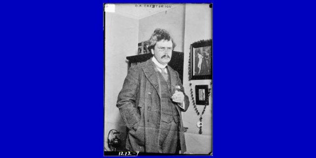 The Financial Wisdom of G.K. Chesterton