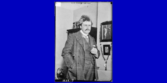 The Financial Wisdom of G.K. Chesterton