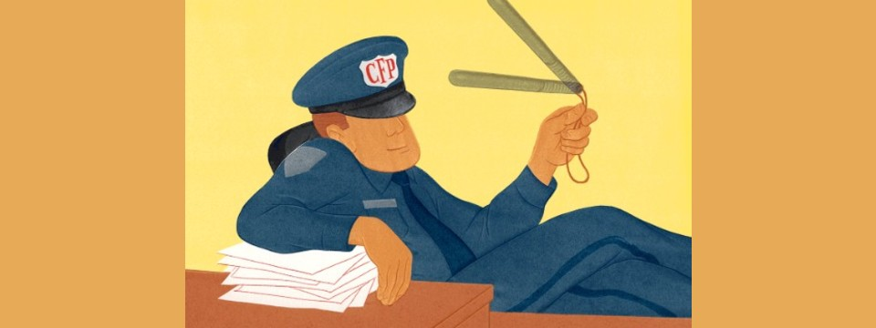 Investors Need This Cop to Toughen Up