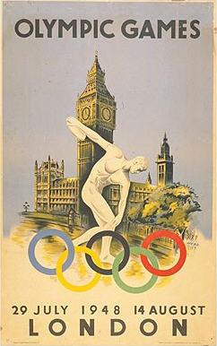 ロンドンオリンピックポスター