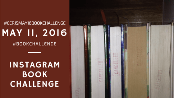 12 - Book Challenge May 11