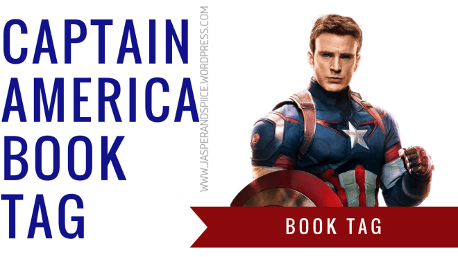 141 - Captain America Book Tag
