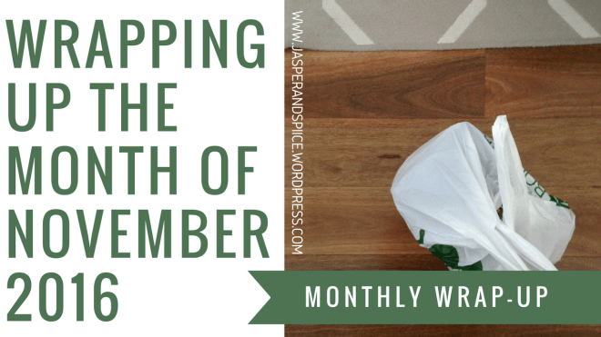 november wrap up header - Yearly Wrap-Up, School Stories + Book Hauls!