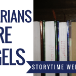 librarians are angels blog header - August TBR