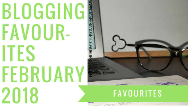 blogging favourites february 2018 blog header - Blogging Favourites Feb 2018