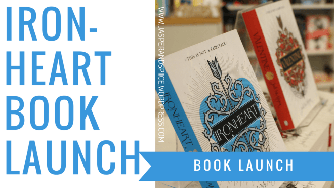ironheart book launch blog header - Ironheart by Jodi McAlister Book Launch!