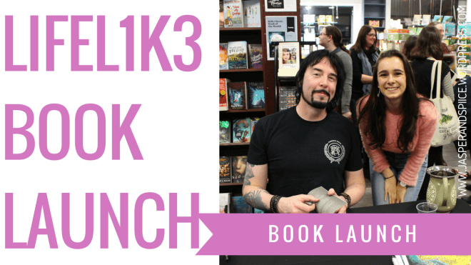 1 - LIFEL1K3 BOOK LAUNCH & I Have 10,000 Words on my Book!