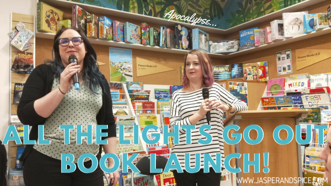 all the lights go out book launch 2018 header - Lili Wilkinson's Guide To The Apocalypse!