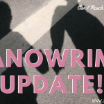 nanowrimo update 2018 header - Percy Jackson and The Lightning Thief by Rick Riordan | Spoilery Book Review (1/5)