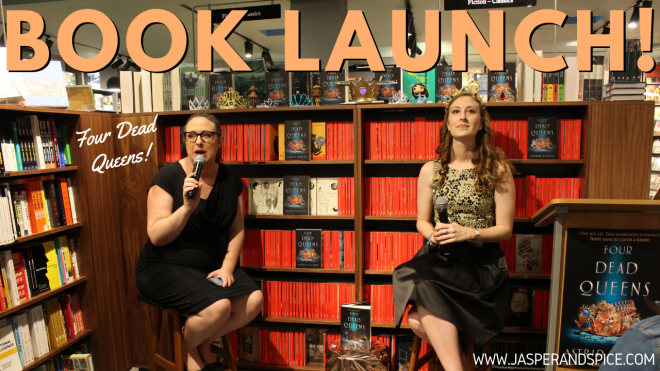four dead queens book launch 2019 header - Four Dead Queens Melbourne Book Launch!