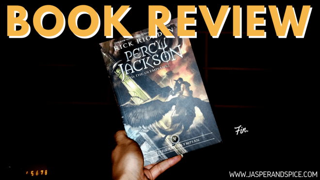 percy jackson and the last olympian book review spoiler free 2019 header - Percy Jackson and The Last Olympian by Rick Riordan | Spoilery Book Review