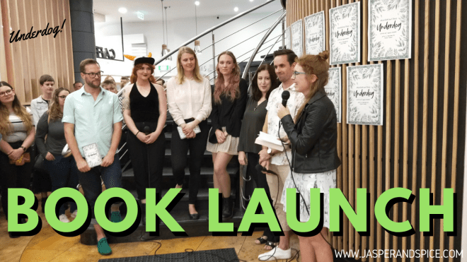 underdog book launch 2019 header - Underdog Book Launch! The Most Down To Earth Book Event <3