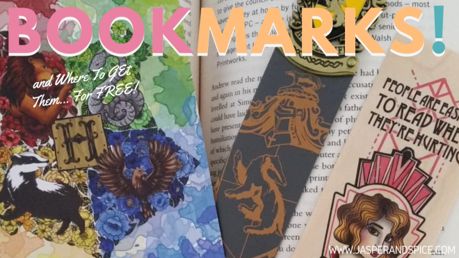 where to buy free bookmarks 2019 header - Places to get free bookmarks in your city.