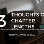 Thoughts on Chapter Lengths 2019 Blog Header Storytime Wednesday - The Surprising Power Of A Book Club!