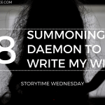 Summoning a Daemon to Write my WIP Realise 2019 Blog Header Storytime Wednesday - Monuments by Will Kostakis | Semi-Spoiler Book Review