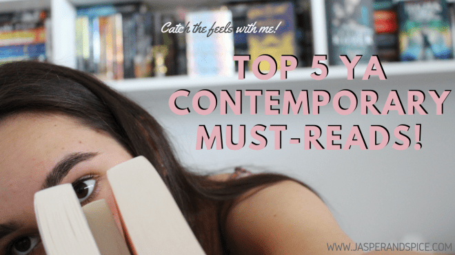 Top 5 YA Young Adult Contemporary Must Reads 2019 Header - Top 5 YA Contemporary Must-Reads! (Oct 2019)