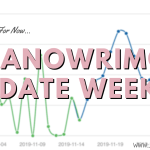NaNoWriMo Week 2 Writing Update 2019 Header - The Experience Of Re-Reading Novels.
