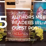 Authors Meeting Readers In Person IRL  A Guest Post From Author Carolyn Denman 2019 Blog Header Storytime Wednesday - Kris Kringle & Best Friends Appreciation Post!