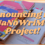 Announcing My NaNoWriMo Project 2020 Blog Header - The Mermaid, The Witch & The Sea by Maggie Tokuda-Hall | Spoiler Free Book Review
