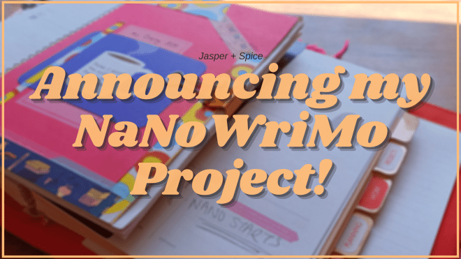 Announcing My NaNoWriMo Project 2020 Blog Header - What Happened During NaNoWriMo 2020?